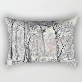 Greenwood in snow, Brooklyn Rectangular Pillow