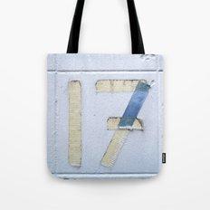 Number 17 Tote Bag