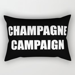 Champagne Campaign Mmm Bubbles Rectangular Pillow