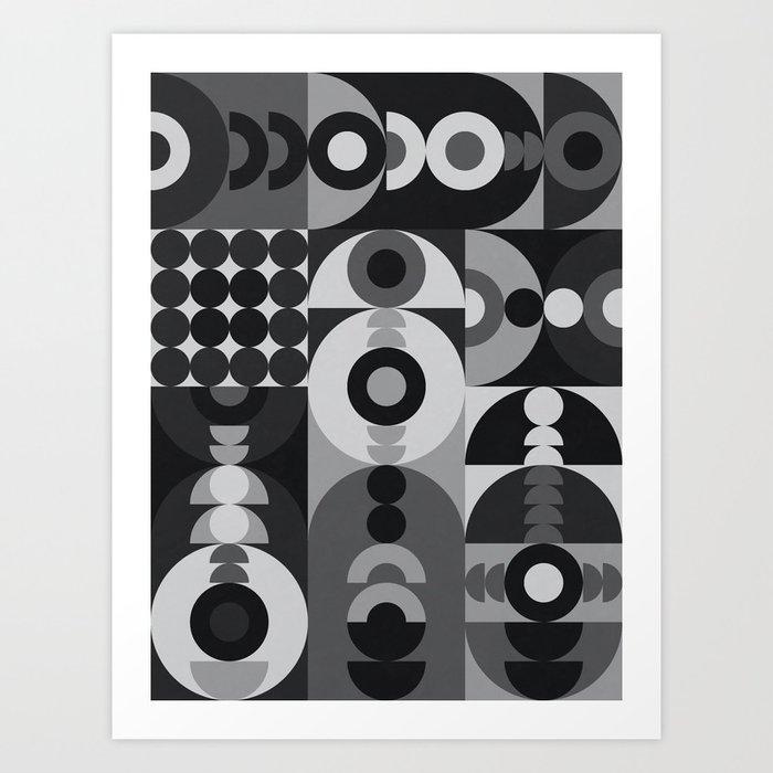 Geometry Games V / Black Palette Kunstdrucke