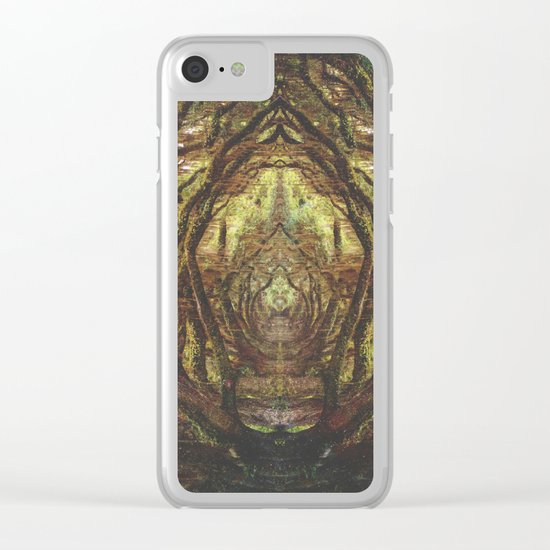 Woods II Clear iPhone Case