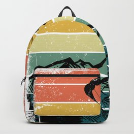 Paragliding Retro Mountains Backpack