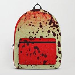 Black Flicks of Paint Backpack