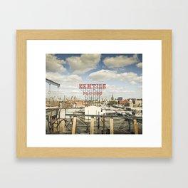 Kentile of Brooklyn Framed Art Print