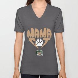 Ohio Bobcats Mama Cat In  cat Unisex V-Neck