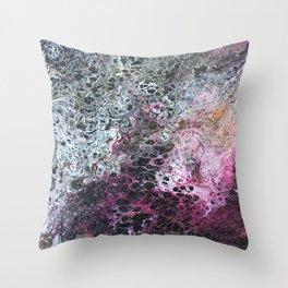 Acrylic pour 2 Throw Pillow