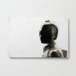 THREEPIO Metal Print