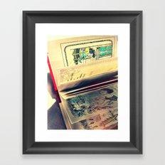 Sendak Pages Framed Art Print
