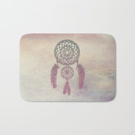 Double Dream Catcher (Rose) Bath Mat