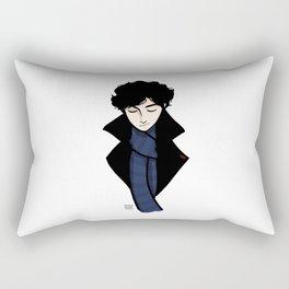 Sherlock, Smirk Rectangular Pillow