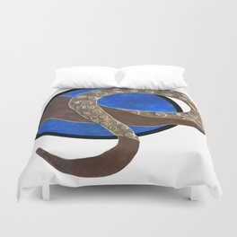 Creature of Water (porthole edit) Duvet Cover