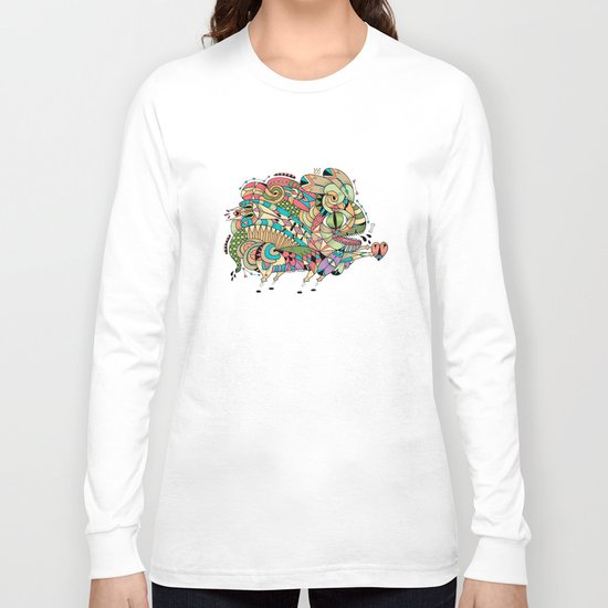 Monster Bunny Long Sleeve T-shirt
