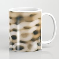 honeycomb Mugs featuring Honeycomb by Laura Ruth