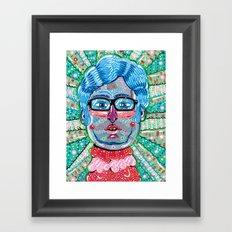 Wareheim Framed Art Print