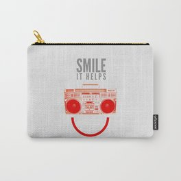 Smile. It Helps. Carry-All Pouch