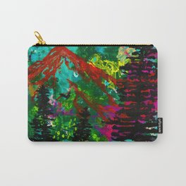 Go Wild - Mountain - Abstract painting Carry-All Pouch