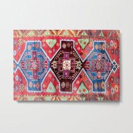 Malatya  Antique Turkish Rug Print Metal Print