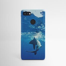 Shark Swimming Android Case