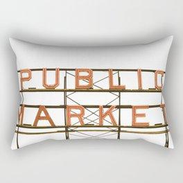 Pike Place Public Farmers Market - Sunrise Rectangular Pillow