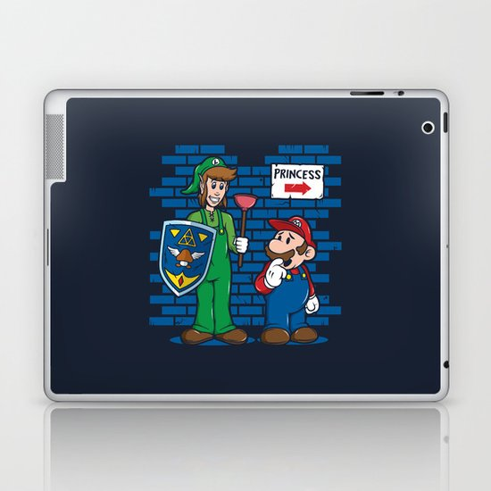 Your Princess is in Another Castle Laptop & iPad Skin