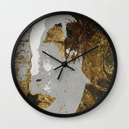 Klimt art Stylization Wall Clock