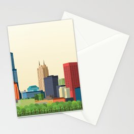 City Chicago Stationery Cards