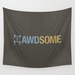 AWDSOME v7 HQvector Wall Tapestry