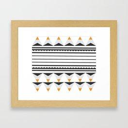 Tribal Lou Framed Art Print