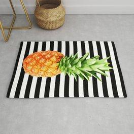 Pineapple, kitchen poster, garden poster, summer shirt, summer poster Rug