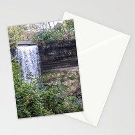Minnehaha Waterfall Stationery Cards
