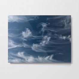 Cirrus Clouds 1 Metal Print