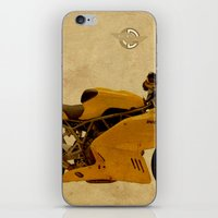 ducati iPhone & iPod Skins featuring Ducati Apollo 1963 by Larsson Stevensem