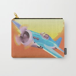 Vintage Fighter aircraft Carry-All Pouch