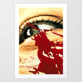 Crisis And Tears  Art Print
