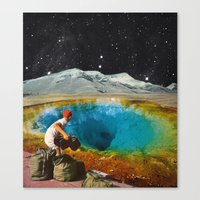CLEAR HISTORY Canvas Print