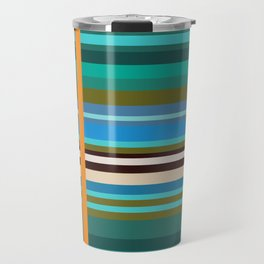 Stripes I Travel Mug