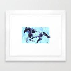 Running Horse 1 Framed Art Print