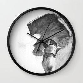 Anatomical Hip Sketch Wall Clock
