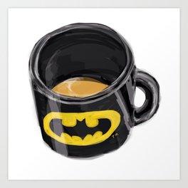 Detective Mug Art Print