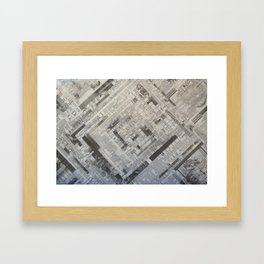 What's the news? Framed Art Print