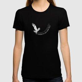 Christian Design - Created to Soar - Isaiah 40:31 T-shirt