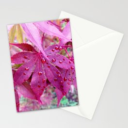 Red Maple Tree Stationery Cards