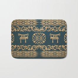 Ethnic african tribal texture Bath Mat