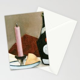 Henri Rousseau - The Pink Candle Stationery Cards