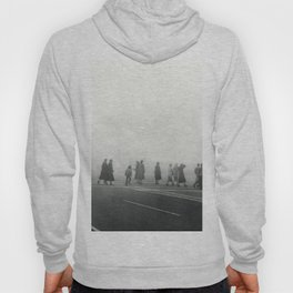 The 1950s historical photograph of an extreme air pollution event at Salt Lake City Utah Hoody