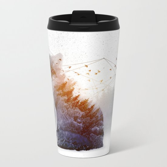 A Wilderness Within / Fox Metal Travel Mug