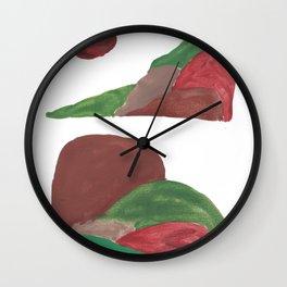 8    | Mountain Watercolour Painting  | 190402 Wall Clock