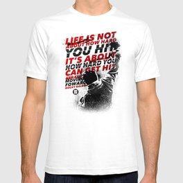 HOW HARD YOU HIT T-shirt