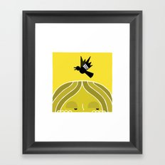 Paul & Blackbird Framed Art Print