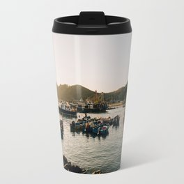 Sunset at Tai O Travel Mug